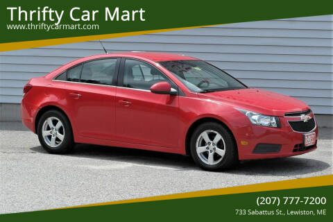2014 Chevrolet Cruze for sale at Thrifty Car Mart in Lewiston ME