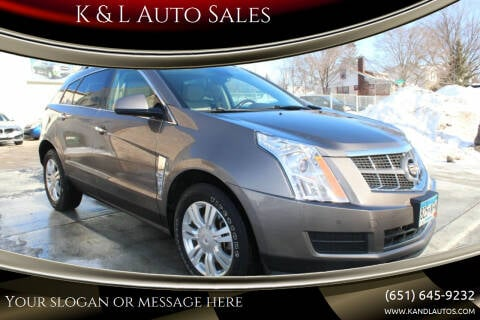 2011 Cadillac SRX for sale at K & L Auto Sales in Saint Paul MN