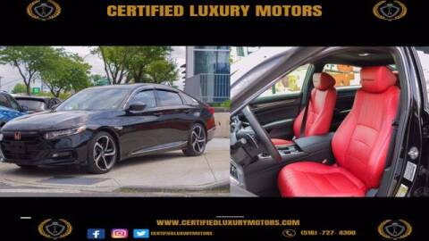 2019 Honda Accord for sale at CERTIFIED LUXURY MOTORS OF QUEENS in Elmhurst NY