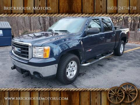 2007 GMC Sierra 1500 for sale at Brickhouse Motors in Brentwood NH
