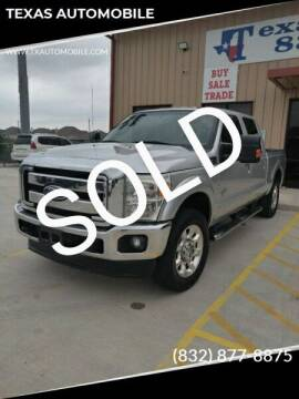 2011 Ford F-250 Super Duty for sale at TEXAS AUTOMOBILE in Houston TX