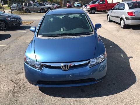 2008 Honda Civic for sale at Mitchell Motor Company in Madison TN