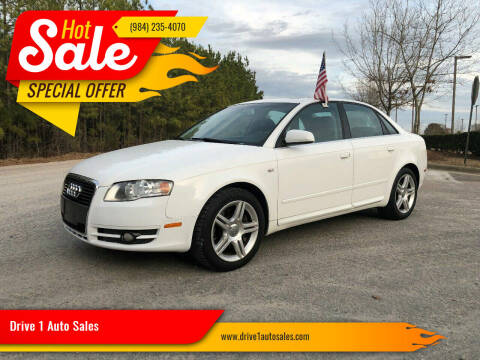 2008 Audi A4 for sale at Drive 1 Auto Sales in Wake Forest NC
