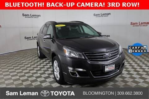 2017 Chevrolet Traverse for sale at Sam Leman Mazda in Bloomington IL
