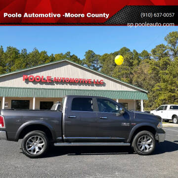 2017 RAM Ram Pickup 1500 for sale at Poole Automotive -Moore County in Aberdeen NC