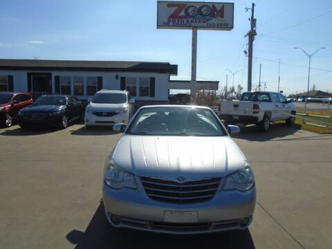 2008 Chrysler Sebring for sale at Zoom Auto Sales in Oklahoma City OK