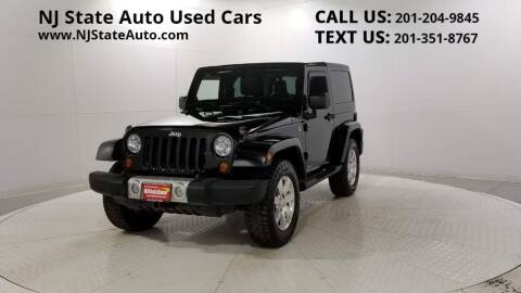 2012 Jeep Wrangler for sale at NJ State Auto Auction in Jersey City NJ
