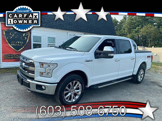 2015 Ford F-150 for sale at J & E AUTOMALL in Pelham NH