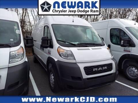 2021 RAM ProMaster Cargo for sale at NEWARK CHRYSLER JEEP DODGE in Newark DE