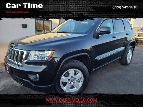 2012 Jeep Grand Cherokee for sale at Car Time in Denver CO