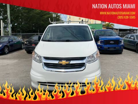 2015 Chevrolet City Express Cargo for sale at Nation Autos Miami in Hialeah FL