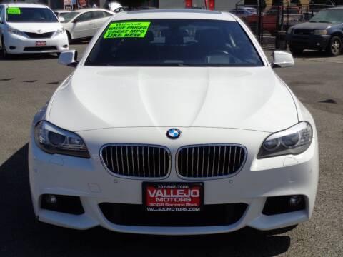 2013 BMW 5 Series for sale at Vallejo Motors in Vallejo CA