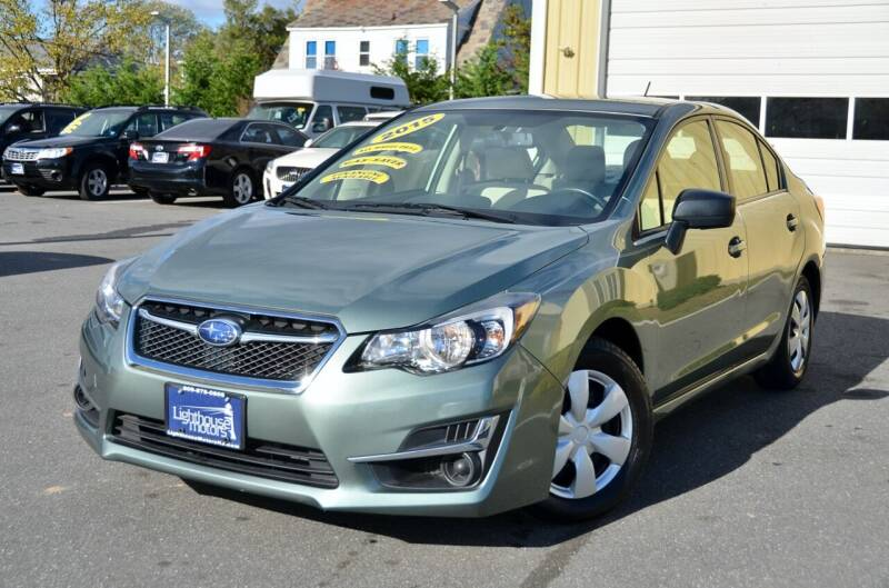 2015 Subaru Impreza for sale at Lighthouse Motors Inc. in Pleasantville NJ