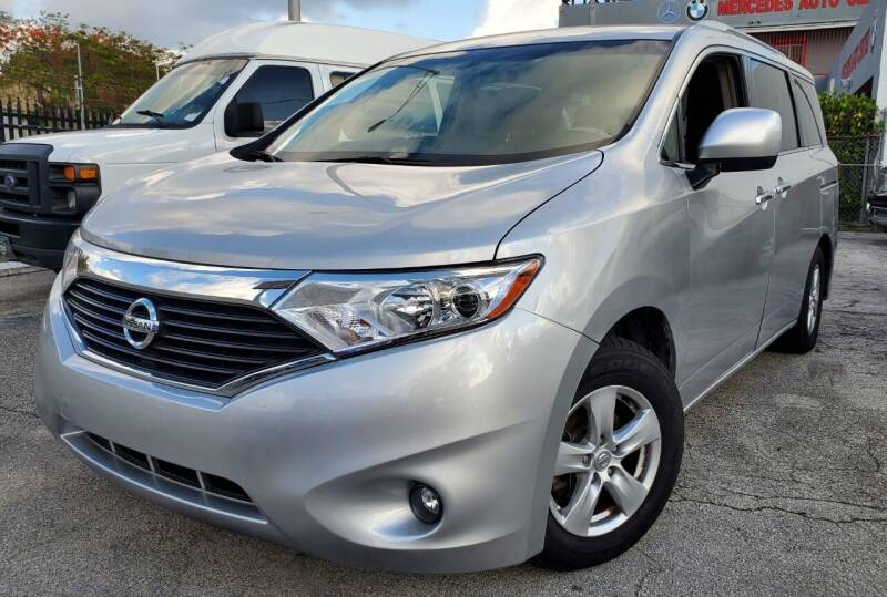 2017 Nissan Quest for sale at Barbie's Autos Corp in Miami FL
