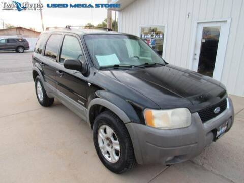 2001 Ford Escape for sale at TWIN RIVERS CHRYSLER JEEP DODGE RAM in Beatrice NE