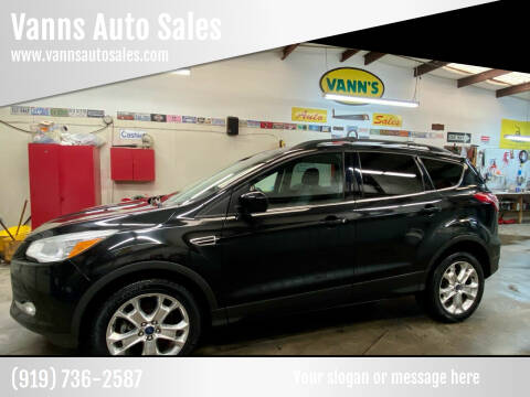 2013 Ford Escape for sale at Vanns Auto Sales in Goldsboro NC