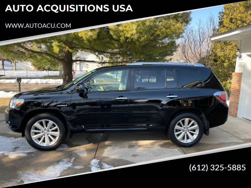 2009 Toyota Highlander Hybrid for sale at AUTO ACQUISITIONS USA in Eden Prairie MN