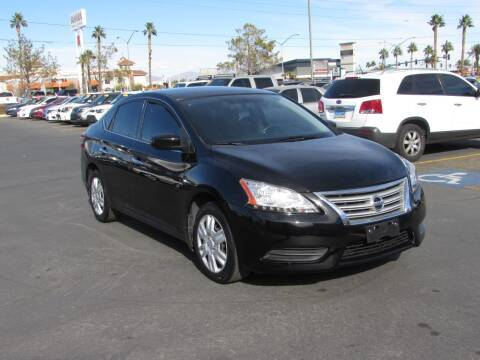 2015 Nissan Sentra for sale at Charlie Cheap Car in Las Vegas NV