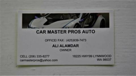 2005 Volkswagen Passat for sale at CAR MASTER PROS AUTO SALES in Lynnwood WA