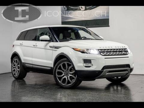 2014 Land Rover Range Rover Evoque for sale at Iconic Coach in San Diego CA