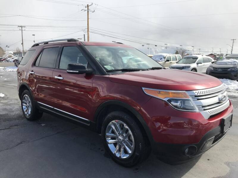 2015 Ford Explorer for sale at INVICTUS MOTOR COMPANY in West Valley City UT