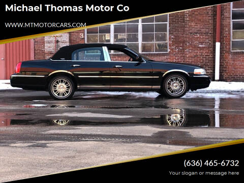 2006 Lincoln Town Car for sale at Michael Thomas Motor Co in Saint Charles MO