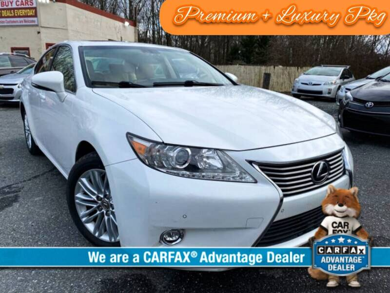 2015 Lexus ES 350 for sale at High Rated Auto Company in Abingdon MD