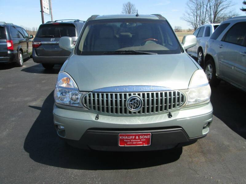 2005 Buick Rendezvous for sale at Knauff & Sons Motor Sales in New Vienna OH