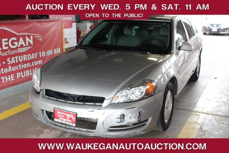 2008 Chevrolet Impala for sale at Waukegan Auto Auction in Waukegan IL