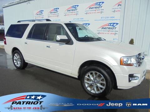 2017 Ford Expedition EL for sale at PATRIOT CHRYSLER DODGE JEEP RAM in Oakland MD