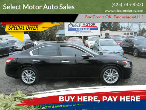 2011 Nissan Maxima for sale at Select Motor Auto Sales in Lynnwood WA