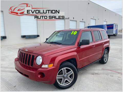 2010 Jeep Patriot for sale at Evolution Auto Sales LLC in Springville UT
