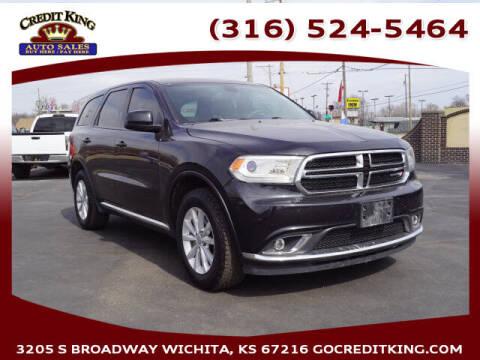 2014 Dodge Durango for sale at Credit King Auto Sales in Wichita KS