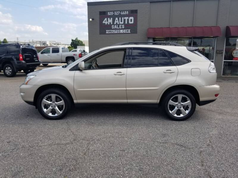 2007 Lexus RX 350 for sale at 4M Auto Sales | 828-327-6688 | 4Mautos.com in Hickory NC