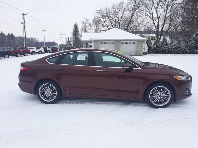 2016 Ford Fusion for sale at Feduke Auto Outlet in Vestal NY