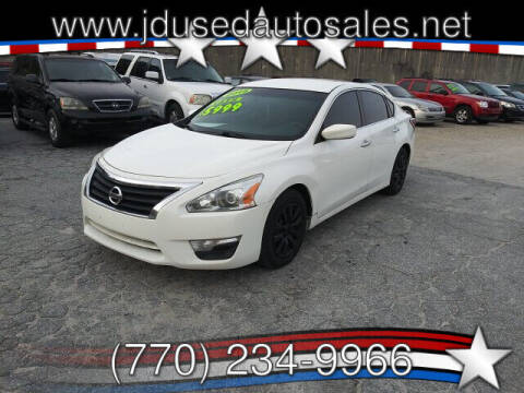 2015 Nissan Altima for sale at J D USED AUTO SALES INC in Doraville GA