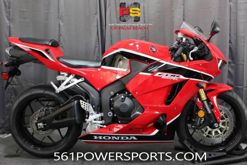2017 Honda CBR600RR