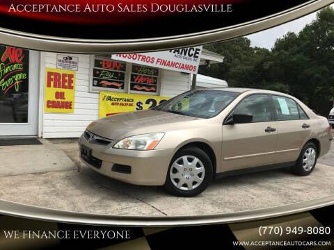 2006 Honda Accord for sale at Acceptance Auto Sales Douglasville in Douglasville GA