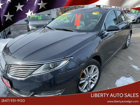 2014 Lincoln MKZ Hybrid for sale at Liberty Auto Sales in Elgin IL