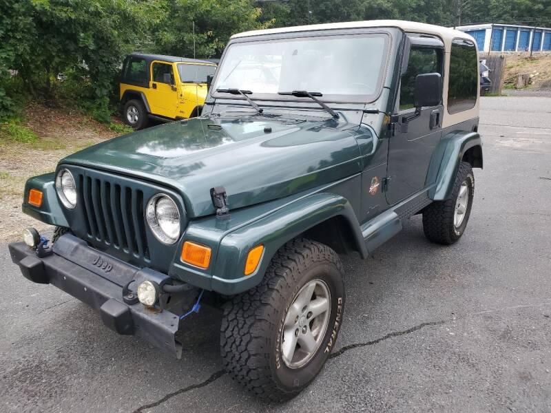 2002 Jeep Wrangler for sale at MX Motors LLC in Ashland MA