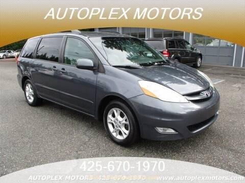 2006 Toyota Sienna for sale at Autoplex Motors in Lynnwood WA
