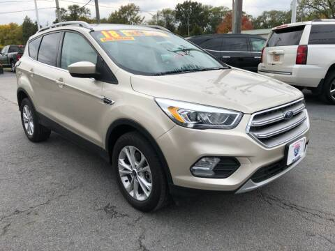 2018 Ford Escape for sale at I-80 Auto Sales in Hazel Crest IL