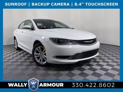 2016 Chrysler 200 for sale at Wally Armour Chrysler Dodge Jeep Ram in Alliance OH