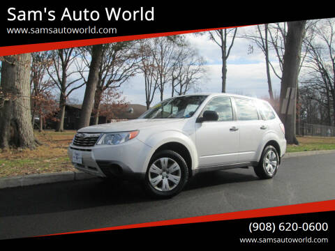 2010 Subaru Forester for sale at Sam's Auto World in Roselle NJ