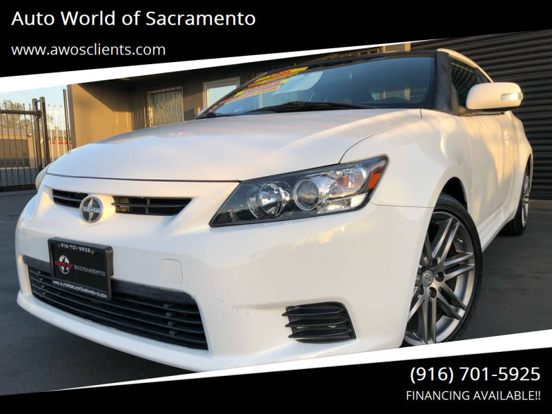 2011 Scion tC for sale at Auto World of Sacramento Stockton Blvd in Sacramento CA