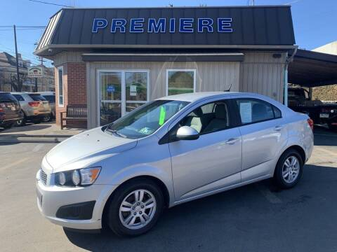 2012 Chevrolet Sonic for sale at Premiere Auto Sales in Washington PA