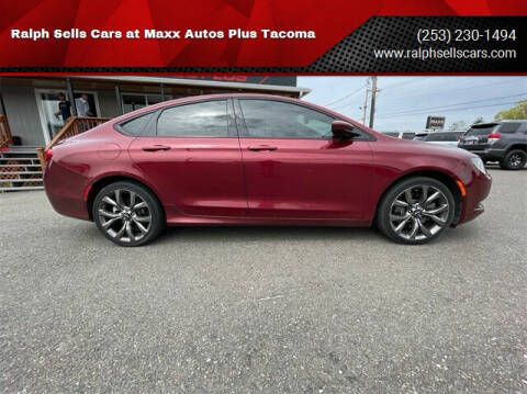2015 Chrysler 200 for sale at Ralph Sells Cars at Maxx Autos Plus Tacoma in Tacoma WA