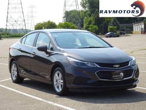 2017 Chevrolet Cruze for sale at RAVMOTORS in Burnsville MN