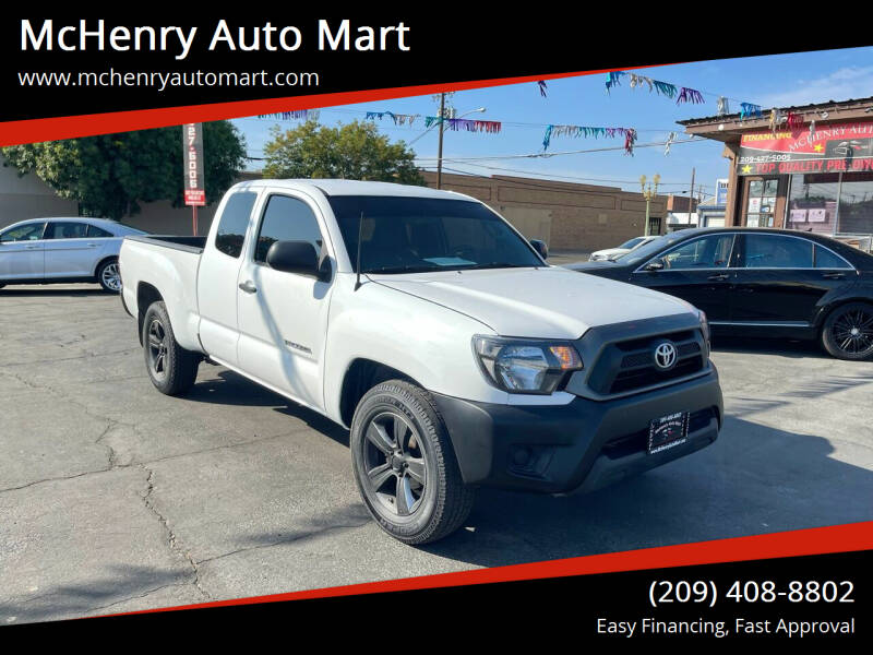 2014 Toyota Tacoma for sale at McHenry Auto Mart in Turlock CA