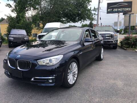 2016 BMW 5 Series for sale at RT28 Motors in North Reading MA